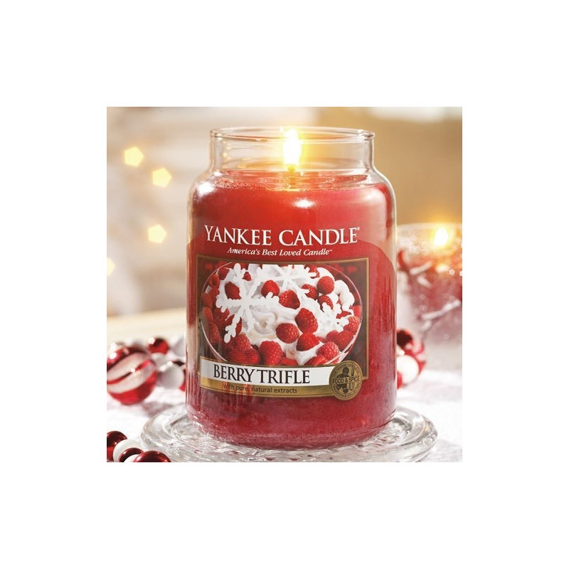 Achat vente jarre trifle aux baies yankee candle berry for Meuble yankee candle