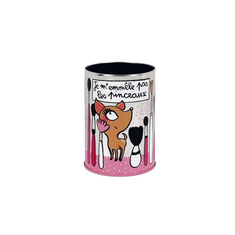 Pot pinceaux maquillage derri re la porte ebay - Pot pour pinceaux maquillage ...