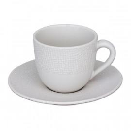 Tasse à café blanche Vesuvio, Table Passion