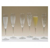 Set de 6 flûtes à champagne Oslo, Markhbein