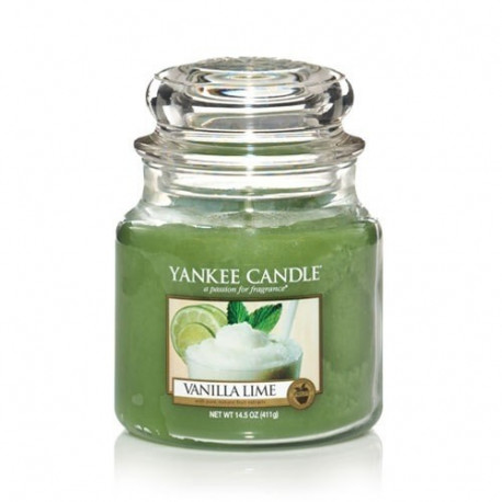 Jarre Vanille et Citron Vert, Yankee Candle
