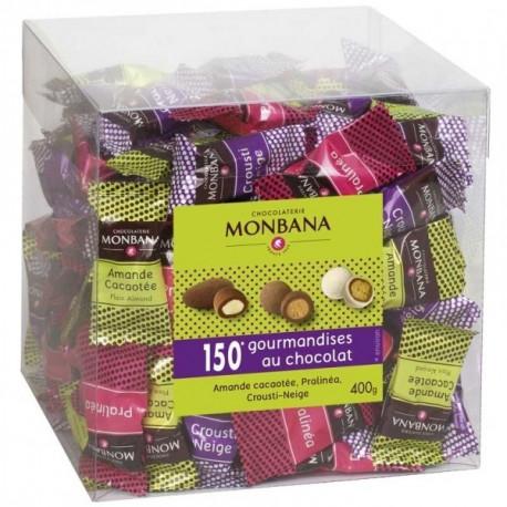 Maxi Box de 150 chocolats, Monbana