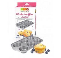 Moule 6 muffins, Scrapcooking