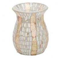Brûle-parfum Gold Wave Mosaic, Yankee Candle