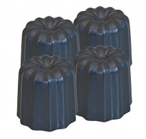 4 moules à cannelés, De Buyer