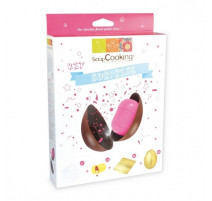 Kit Oeuf en chocolat surprise, Scrapcooking