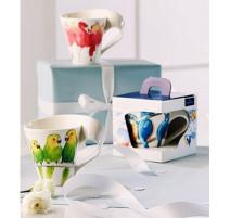 Chope oiseaux porcelaine, Villeroy et Boch