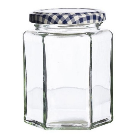 Pot à confiture hexagonal, Kilner