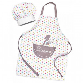 Set tablier + toque enfant, Scrapcooking