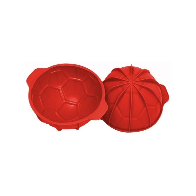 acheter moule g teau forme ballon de foot goal silikomart. Black Bedroom Furniture Sets. Home Design Ideas