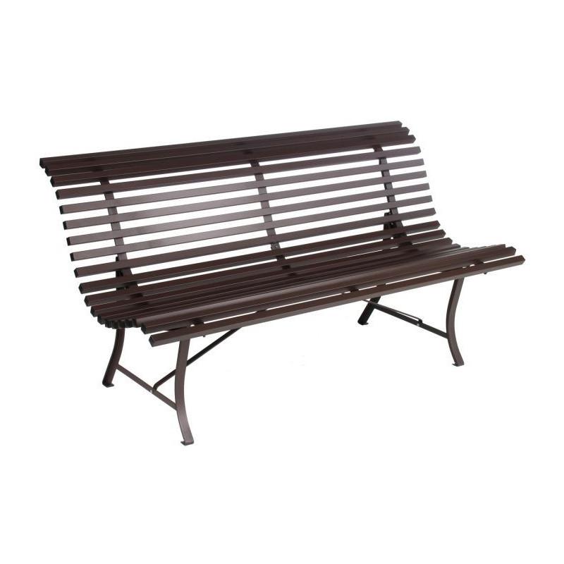 vente banc de jardin louisiane fermob 150 cm fauteuils chaises et bancs meuble d 39 ext rieur m. Black Bedroom Furniture Sets. Home Design Ideas