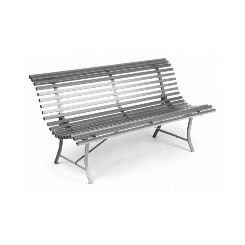 Vente banc de jardin louisiane fermob 150 cm fauteuils for Banc de jardin fermob