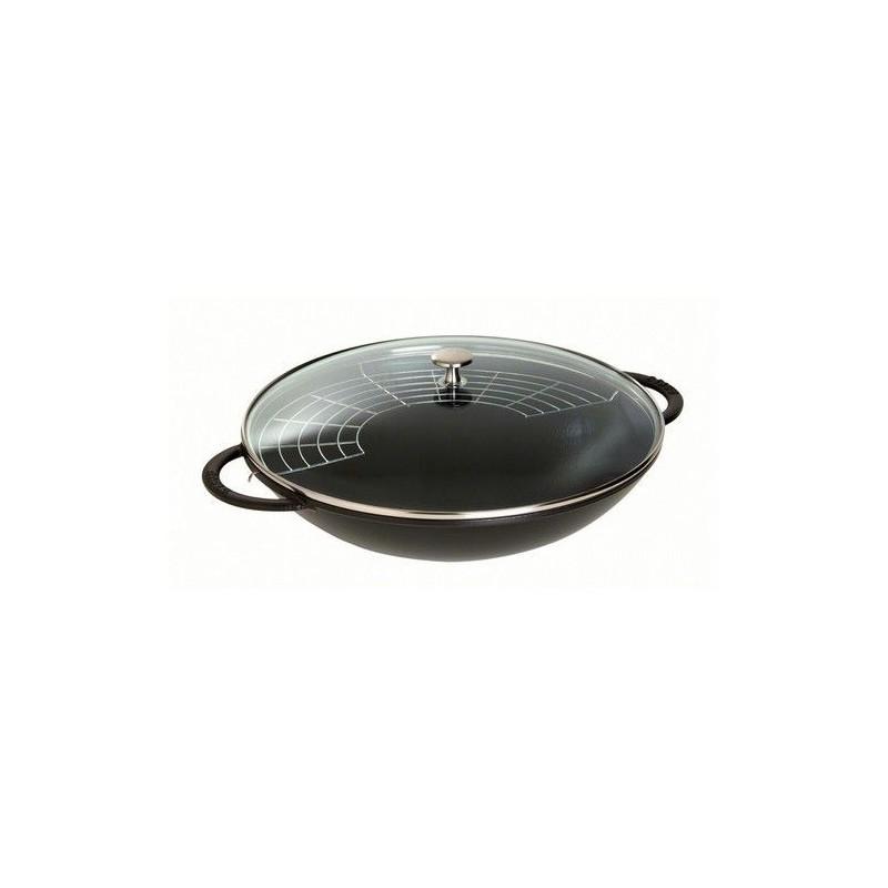 acheter wok staub fonte. Black Bedroom Furniture Sets. Home Design Ideas