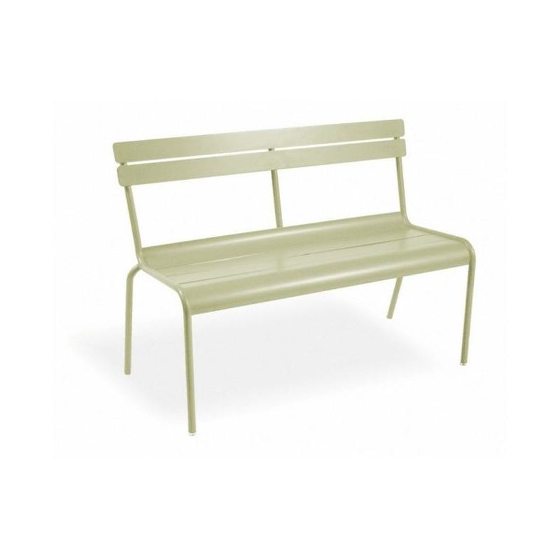 acheter banc 2 places luxembourg fermob fauteuils chaises et bancs meuble d 39 ext rieur. Black Bedroom Furniture Sets. Home Design Ideas