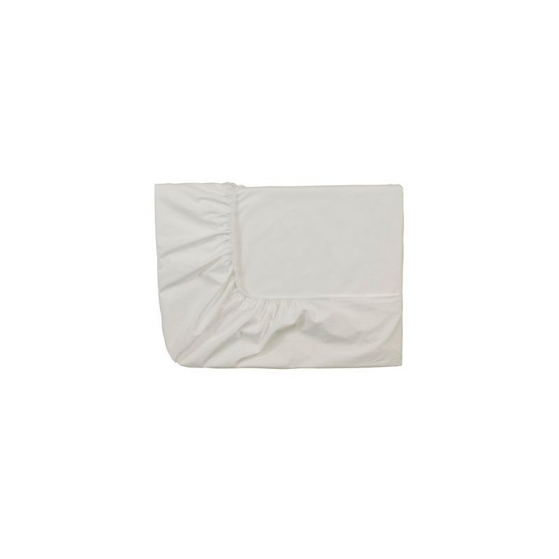 acheter drap housse percale meringue essix grande taille. Black Bedroom Furniture Sets. Home Design Ideas