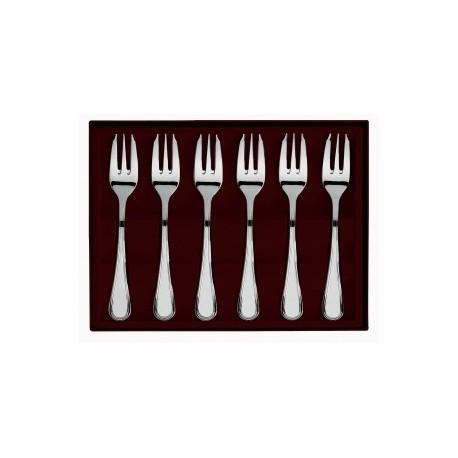 Coffret 6 fourchettes à gâteaux Confidence Guy Degrenne