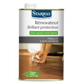 Rénovateur brillant protecteur parquet & sols stratifiés, Starwax