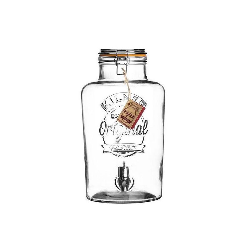 distributeur de boissons kilner fontaine boissons en verre fontaine limonade en verre punch. Black Bedroom Furniture Sets. Home Design Ideas