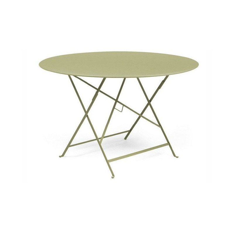 Vente table ronde bistrot 117cm fermob tables de jardin - Table bistro jardin ...