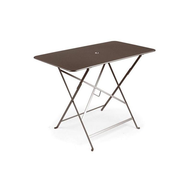 Acheter Table de jardin pliante Fermob bistro 97X57 cm - Tables de ...