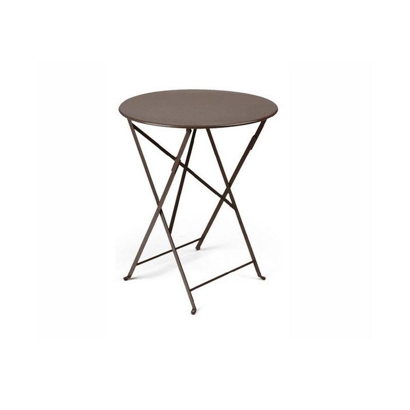 Acheter Table Bistro Ronde 60cm Fermob Tables De Jardin Meuble D 39 Ext Rieur Meuble