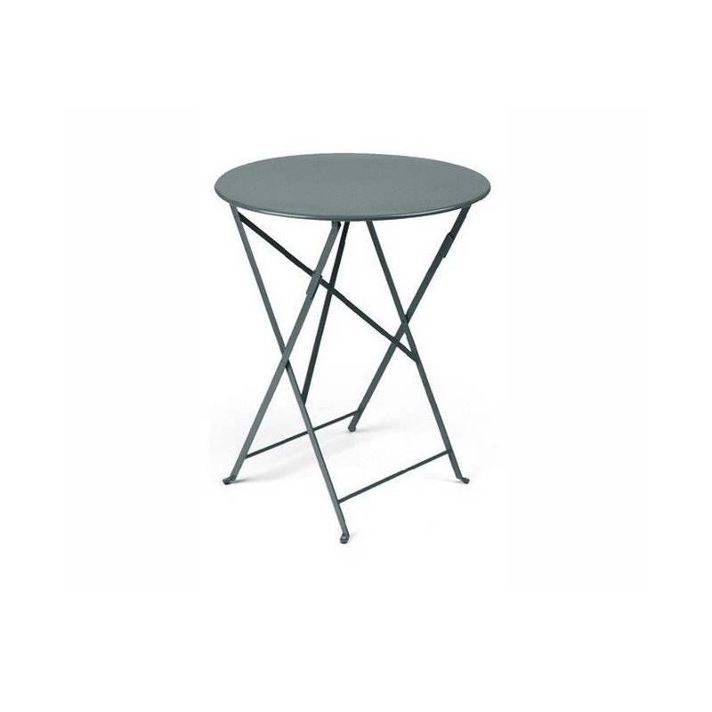 Emejing table de jardin ronde rallonge ideas bikeparty for Petite table ronde de jardin