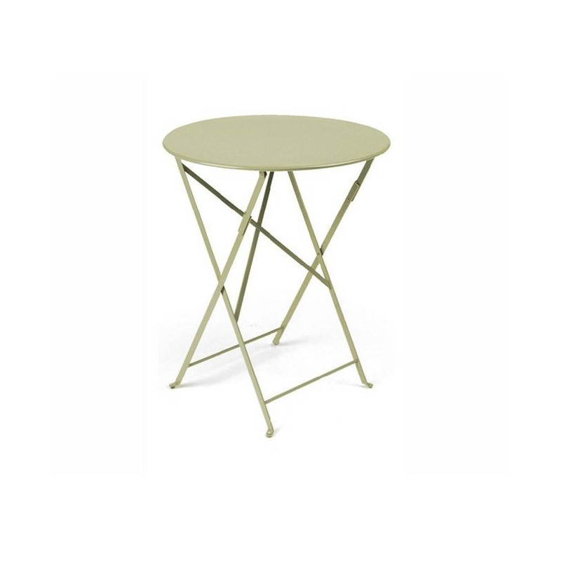 Acheter table bistro ronde 60cm fermob tables de jardin for Table de bistrot pliante
