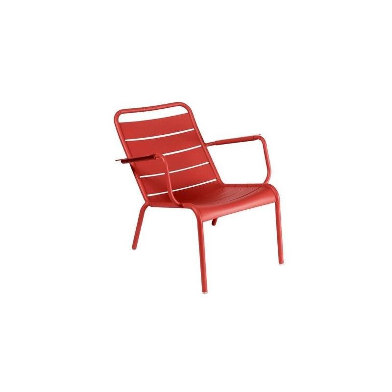vente fauteuil bas luxembourg fermob lounge meuble d 39 ext rieur meuble. Black Bedroom Furniture Sets. Home Design Ideas
