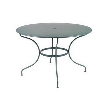 vente table de jardin ronde acier 117 cm opera fermob. Black Bedroom Furniture Sets. Home Design Ideas