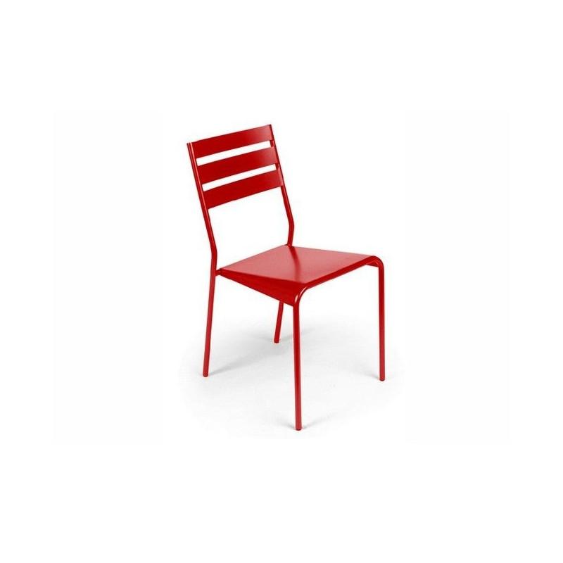 achat chaise de jardin empilable facto fermob fauteuils chaises et bancs meuble d 39 ext rieur. Black Bedroom Furniture Sets. Home Design Ideas