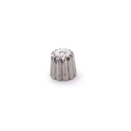 Moule cannelé en aluminium, Mauviel