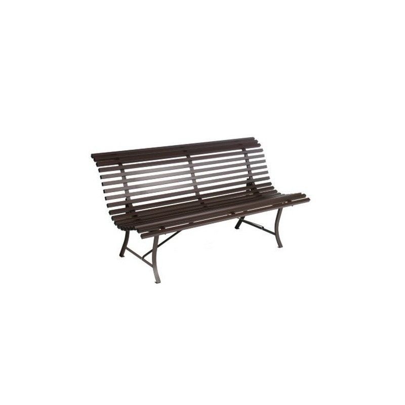 achat banc de jardin louisiane fermob 200 cm fauteuils chaises et bancs meuble d 39 ext rieur m. Black Bedroom Furniture Sets. Home Design Ideas