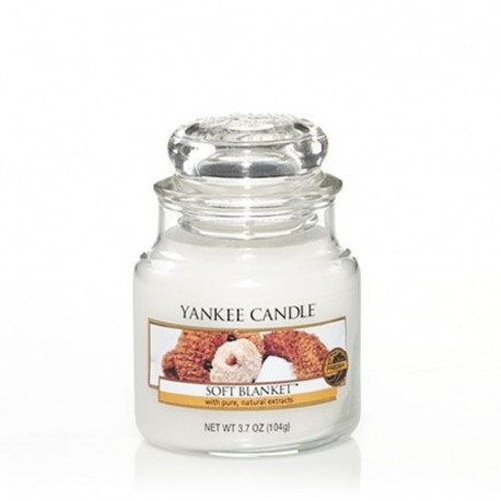 Jarre Couverture Douce, Yankee Candle