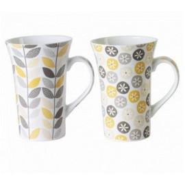 Coffret  2 mugs XL Jaipur, Table Passion