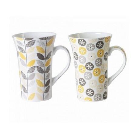 achat vente mug porcelaine mug color tasse caf. Black Bedroom Furniture Sets. Home Design Ideas