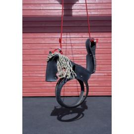 Balançoire en pneu - cheval KG10