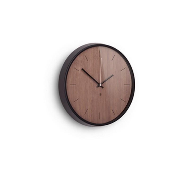 acheter horloge madera noire umbra. Black Bedroom Furniture Sets. Home Design Ideas