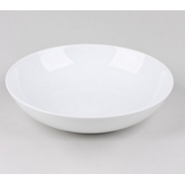 Assiette creuse blanche Chamonix, Table Passion
