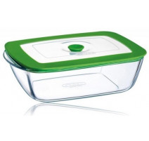 Plat rectangle en verre 4 en 1 Plus, Pyrex