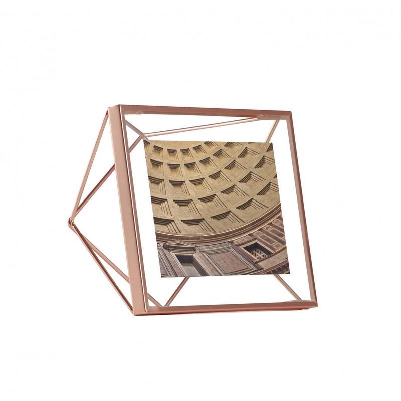 acheter cadre prisma cuivre, umbra