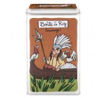 Boîte à riz sauvage, Derrière la porte