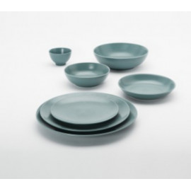 Service vaisselle modulo Bleu Galet, Guy Degrenne