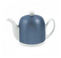 Théière Salam 6 tasses Bleu Cobalt /Alu, Guy Degrenne