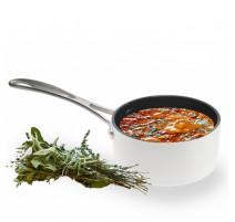 Casserole à sauce Evergreen in white, Aubecq