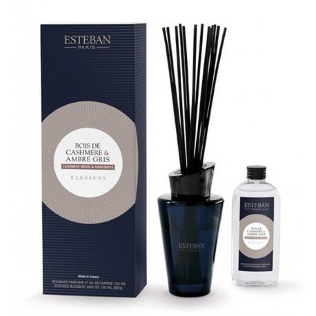 Bouquet parfumé Elessens collection Boisde Cashmere/Ambre gris, Esteban