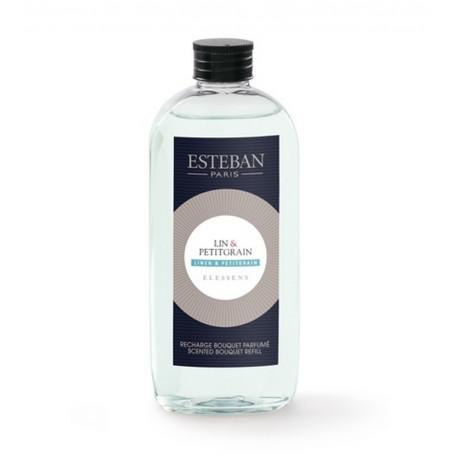 Recharge bouquet parfumé Elessens collection Lin/Petitgrain, Esteban