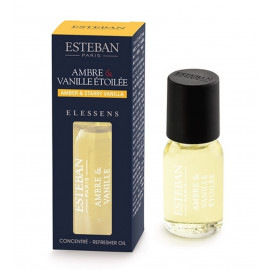 Concentré de parfum Elessens Ambre/Vanille Etoilée, Esteban
