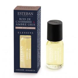 Concentré de parfum Elessens Bois de cashmere/Ambre, Esteban