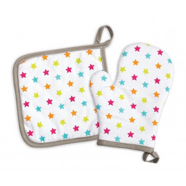 Set manique +gant enfant, ScrapCooking