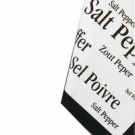Torchon imprimé Sel/poivre, Winkler